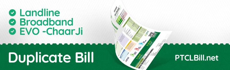 ptcl-duplicate-bill